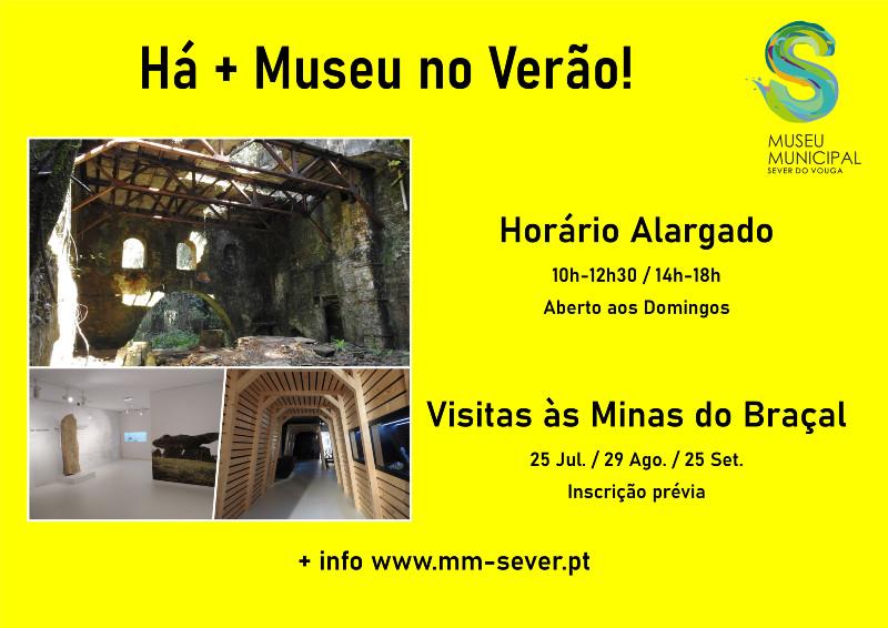 Há + Museu no Verão!